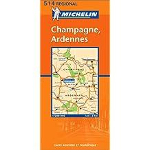 Carte routière : Champagne - Ardenne, N° 11514