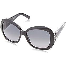 Swarovski Women's Sunglasses Sk0034 01B-58-15-135, Black (Schwarz), 58