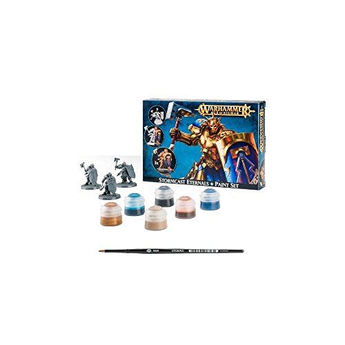 Warhammer Age of Sigmar Stormcast Eternals and Paint Set by Warhammer