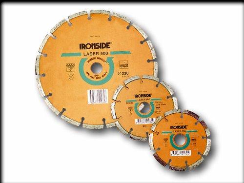 IRONSIDE M261468 - DISCO DE CORTE LASER 500 115 MM