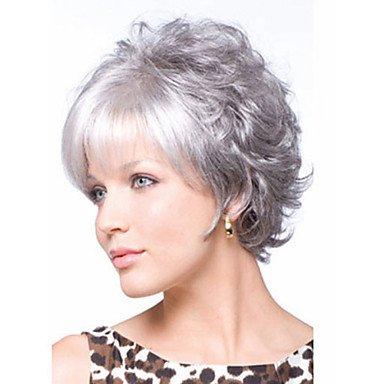 cheveux gris silver. Black Bedroom Furniture Sets. Home Design Ideas