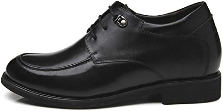 Hombres Zapatos Sigilo Dentro Del Aumento Zapatos De Hombre Negocios Marea Zapatos  -