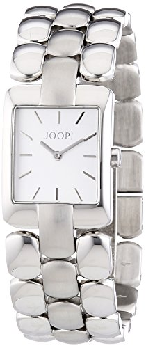 Joop JP101472001 Women's Quartz Watch with Black Dial Analogue Display Stainless Steel