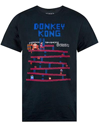 Donkey Kong Super Mario Retro Gaming Men's T-Shirt