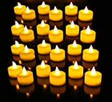 Smokeless Led Yellow Candle Lights with Ring Design in Middle Diwali Special
