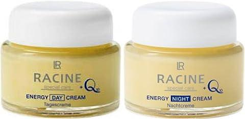 1a LR RACINE 1599 Creme - Set - Reichhaltige Tagescreme und Nachtcreme mit Q10 - Energy Day + Night Cream --- 2x50ml