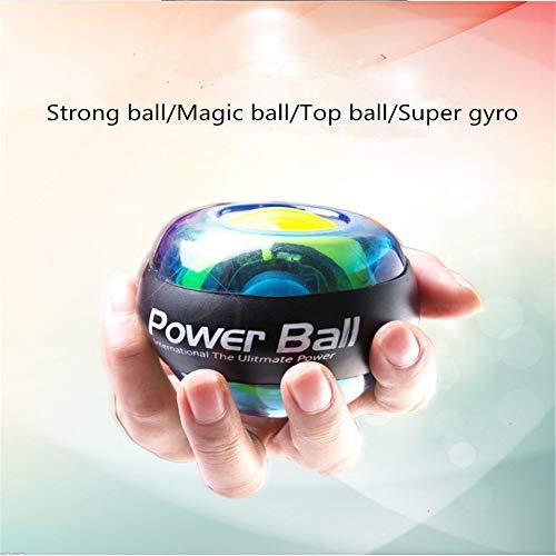 Lz LED Wrist Ball Trainer, Wrist Ball Super Gyro Powerball Muñeca De La Muñeca Agarre De Los Dedos...