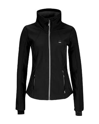 Bench Damen Jacke Jacke Uncouth schwarz (black (BK001)) X-Small