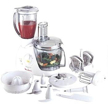 Moulinex Ovatio 3 AAT7R4 Duo Food Processor, 3 Litre Food Processor Bowl, 1.5 Litre Blender Bowl
