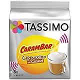 TASSIMO Cappuccino Carambar 16 Tdisc - Lot de 5 (80 Tdisc)