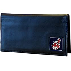 MLB Cleveland Indians Deluxe Leather Checkbook Cover