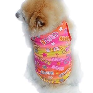 vêtements pour chien, Été Pet Cute Puppy petit chien Cat Pour Animal Domestique gilet T-shirt Habillement
