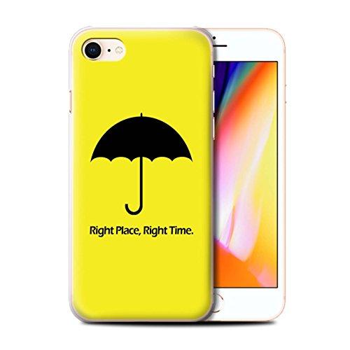 Stuff4 Hülle / Case für Apple iPhone 8 / Regenschirm / Zitat Muster / Lustige Komödie Sitcom TV Kollektion (Lustige Zitate Tv)