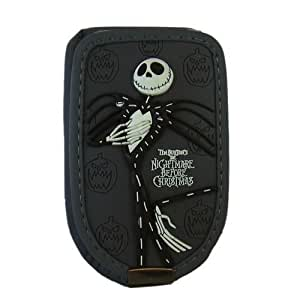 Nightmare Before Christmas Jack Cell Phone Case w/ Pumpkins - Grey