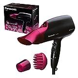Panasonic Eh-Na65-K825 Sèche-Cheveux Avec Diffuseur | Nanoe (Technologie Ionique Avancée) | Protection Des Cheveux | Style Professionnel | 2000 W