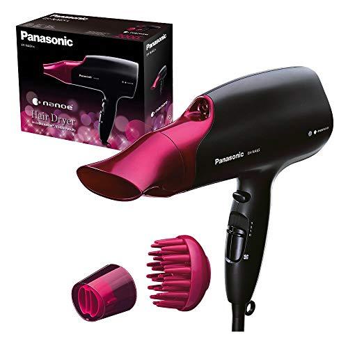 Panasonic EH-NA65-K825 Phon per Capelli con Tecnologia Nanoe, Rosso Carminio/Nero