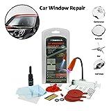 haodene Windschutzscheiben Politur Reparaturset Autofenster Reparaturpolitur DIY Repair Kit Steinschlag-Reparatur-Set