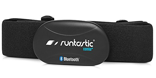 Runtastic Heart Rate Combo Monitor (Bluetooth-Brustgurt zur Herzfrequenzmessung) Schwarz -