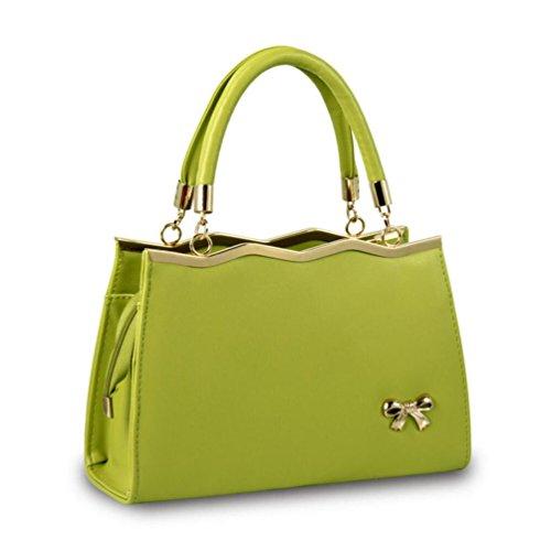 XibeiTrade - Borsa a tracolla Ragazza donna Green