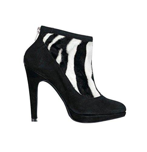Patrizia Dini - Bottes Classiques Pour Femmes Multicolore (noir-blanc)
