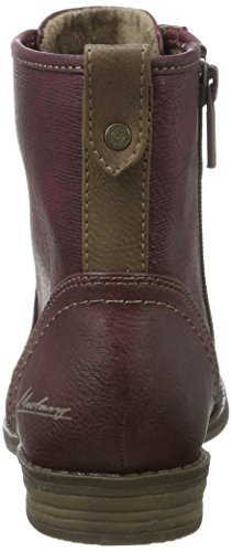 Mustang Damen 1157-550-55 Stiefel Rot (Bordeaux)
