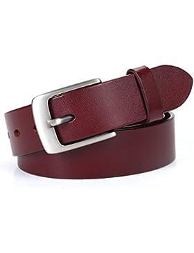 Señoras Retro Cinturón,Simple Pin Hebillas Cinturón Distribución Jeans Decoración Cinturón
