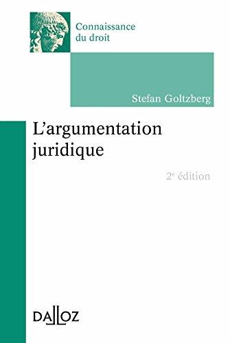 L'argumentation juridique - 2e éd.