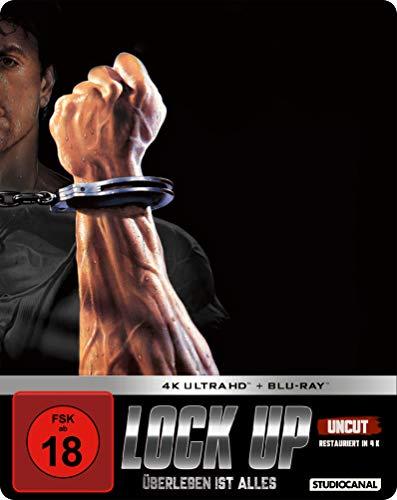 Lock up - Überleben ist alles / Limited SteelBook Edition / (4K Ultra HD + Blu-ray 2D)