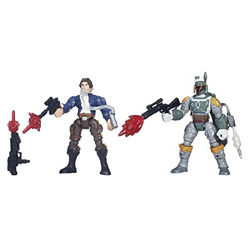 Star Wars Hero Stampfern Han Solo vs. Boba ()