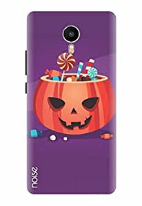 Noise Trick Or Toffees Printed Cover for Meizu Metal