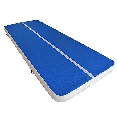 Aufblasbare Tae Kwon Do Mat / Over-Over Luftkissen / Geladen Zeichnung Yoga Luftkissen / Camping Gymnastik Ausbildung Luftkissen / Wasser Schwimmende Pad Multi-Color (Größe 200 * 300 * 18Cm),Blue,200*300*18CM