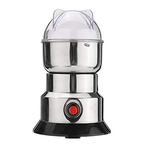 YSCCSY Elektro-Kaffeemühle Kräuter/Gewürze/Nüsse/Kaffeebohnen Mühle Klinge Schleifer Mit Edelstahl-Klingen Haushalts Schleifmaschine Werkzeug