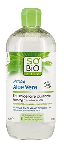 So' Bio étic, acqua micellare purificante per pelli...