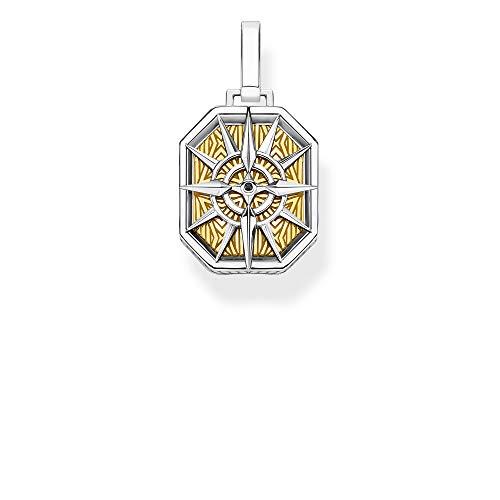 Thomas Sabo Unisex-Anhänger Kompass gold 925 Sterlingsilber  gelbgold vergoldet gelbgoldfarben PE867-849-7