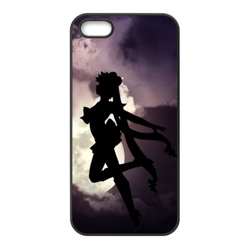 iPhone 5/iPhone 5S Case Coque, Screen Protector pour iPhone 5 5S, Sailor Moon Designs iPhone 5S Case, iPhone 5/iPhone 5S Coque de protection Case
