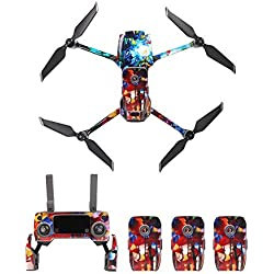 Rebecca Daniell Sunnylife calcomanía de Cuerpo Completo Impermeable para dji Mavic 2 Pro/Mavic 3 Zoom Drone, Mando a Distancia y batería RC867 Kit de Cables de Necesidades diarias