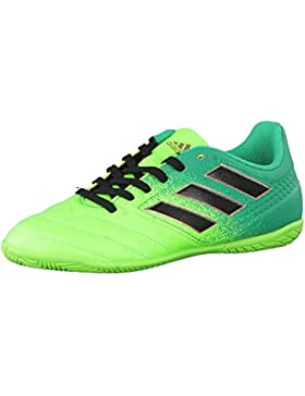 the latest 4ff31 faabd Adidas Ace 17.4 in J, Scarpe per Allenamento Calcio Unisex – Bambini, Verde  (