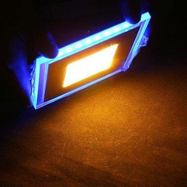 Blu-LED da incasso a parete a Faretto da soffitto, in vetro, colore: blu/bianco, Bianco, 20 W