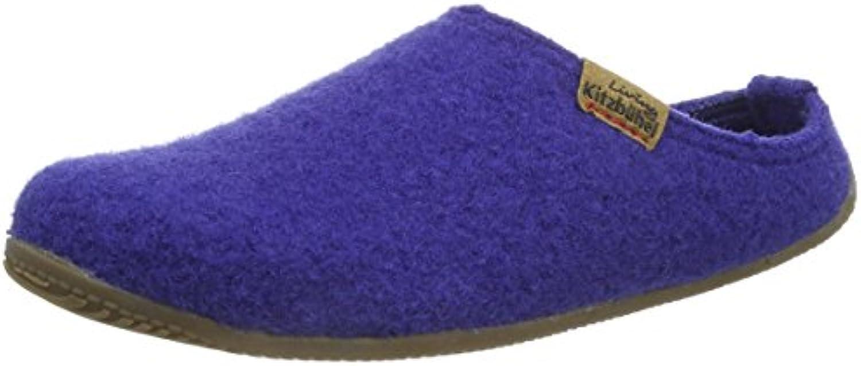 Living Kitzbühel Pantofole con con con Logo in Pelle Uomo | Forte calore e resistenza all'abrasione  e44472