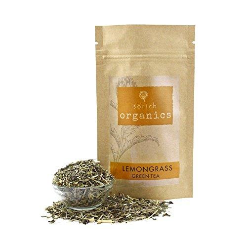 SorichOrganics - Lemongrass Green Tea - 100 Gm