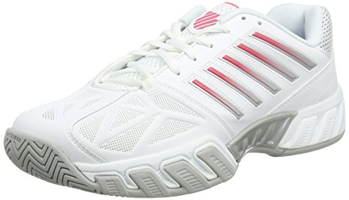 K-Swiss Performance Bigshot Light 3, Scarpe da Tennis Donna Bianco (White/calypso Coral)