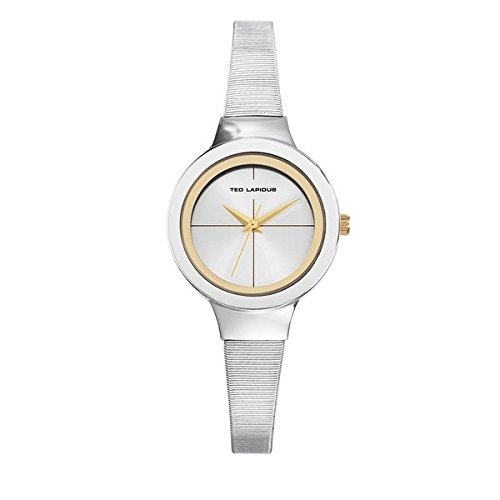 Lapidus plata-Reloj Ted Urban-A0679BBIXX-Chic