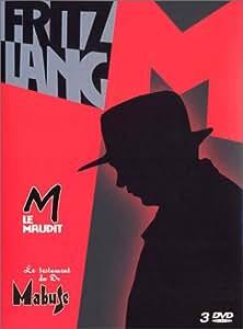 Coffret Fritz Lang 3 DVD : M. le maudit / Le Testament du Dr. Mabuse / DVD Bonus