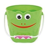 Toyrific Frog Plastic Bucket - Green