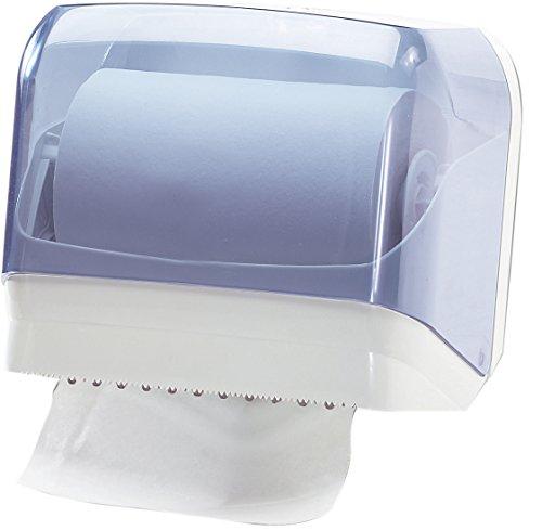Dispenser distributore carta asciugamani trasparente a muro