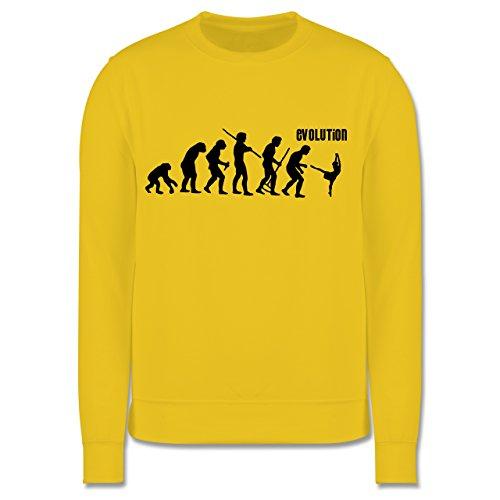 (Shirtracer Evolution Kind - Modern Dance Evolution - 12-13 Jahre (152) - Gelb - JH030K - Kinder Pullover)