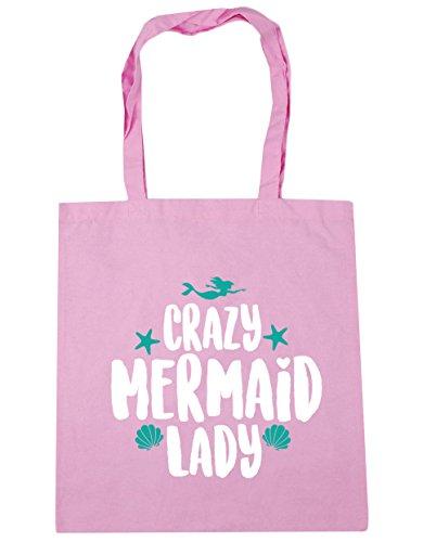 hippowarehouse-damen-strandtasche-gr-einheitsgrosse-classic-pink