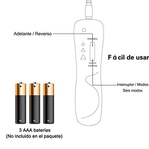ZAMO Adam Juguete Realista con Mando Inteligente Mezcla Perfecta de Flexibilidad y Firme 6 Modos de Bi bración Juguete para Mujeres.