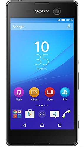 Sony Xperia M5 (5,0 Zoll (12,7 cm) Touch-Display, 16 GB Speicher, Android 5.0, Model (E5603)) Special.Edition (schwarz)