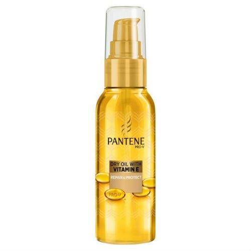 Pantene Pro Behandlung Trocken-Öl mit Vitamin E Repair & Protect 100ml Fall von 4 - Verteidigung Behandlung